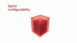 Schindler 5500 - Space configurability